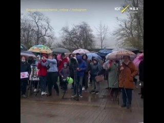 Митинг в Белореченске против свалки