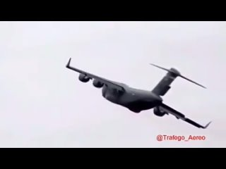 Boenig C-17 Globemaster на Аляске рухнул сразу после взлета