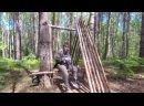 Один в Борских лесах - строю укрытие
