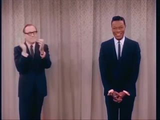 The Jack Benny Program 1964 with Nat King Cole in color in english eng