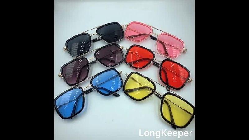Longkeader, тони старк, железный человек, солнцезащитные очки, мужские, стимпанк, брендовые