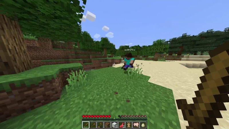 Minecraft Две незнайки 4