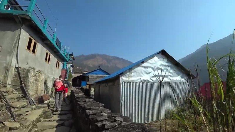 Max Trawor Пешком через Гималаи или путешествие в другую реальность Непал горы Аннапурна