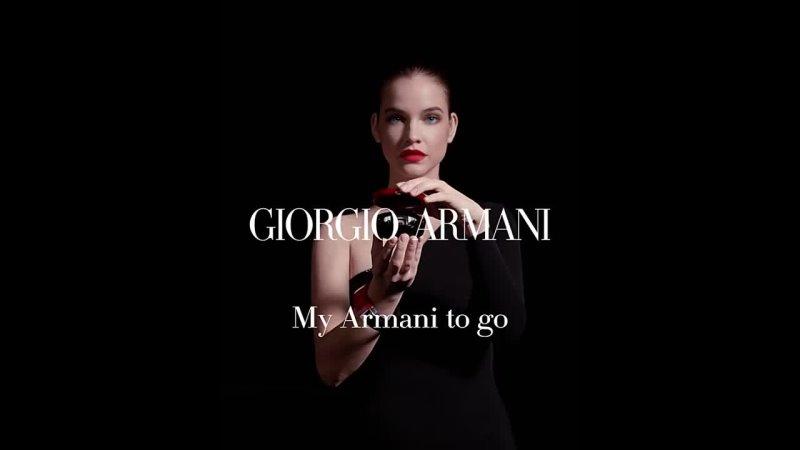 Barbara Palvin for Armani Beauty 2021