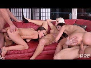 Blanche Bradburry and Cindy Shine, Nicole Love - Wild Swingers Orgy With 3 Crazy Czech Chicks! - Porno, All Sex Blowjob Anal