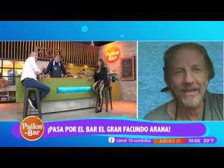 Facundo Arana se sumó al Pailos Bar