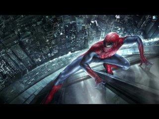 Человек паук на здании мегаполиса - живые обои для Wallpaper Engine