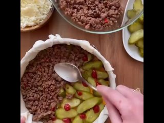 🔥 Пирог «Чизбургер» 🔥