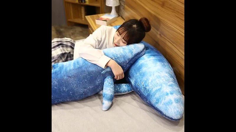 55 см 130 см новая стильная игрушка очень мягкие плюшевые игрушки с синим китом высокое качество подушка рыба детские игрушки