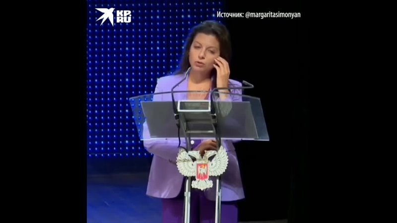 Маргарита Симоньян предложила присоединить Донбасс к России