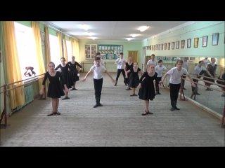 Класс-концерт по народному танцу 8 год обучения 2 подгруппа 2021 год