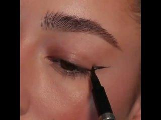 Эффектные глазки для вечернего макияжа