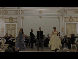Фрагмент из оперетты «Сильва». Н. Савченко, А. Булгак, Р. Вокуев
