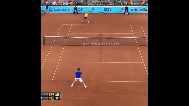 Federer on the clay Federer