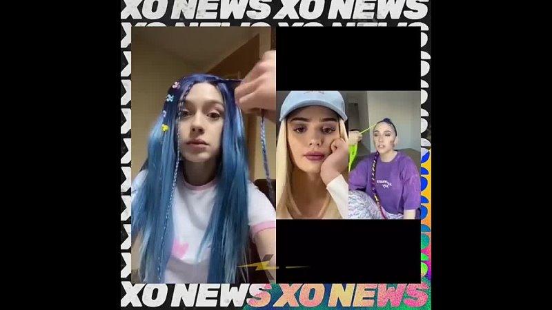 Мия Бойка обвиняла Дину Саеву в плагиате синих волос а сама ворует образы Мэйби Бэйби 🤡