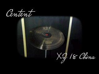 Centent cymbals - XZ 18 China
