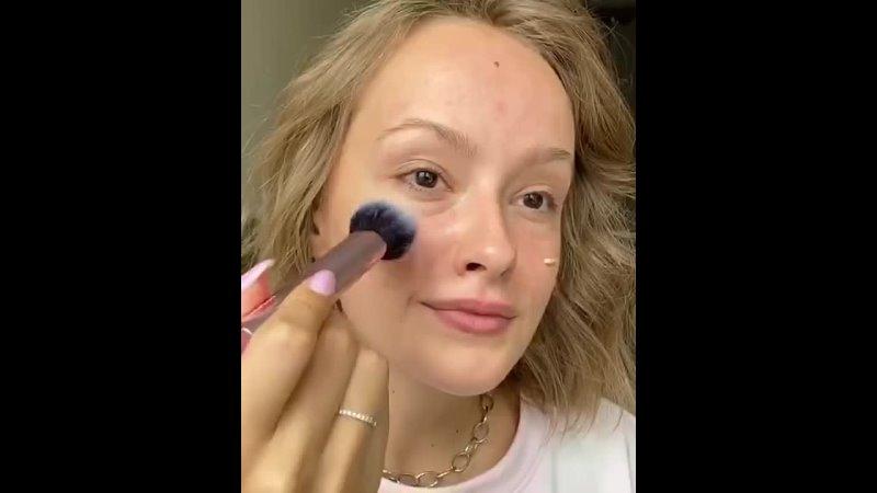 Идеальный освежающий макияж на работу или в универ