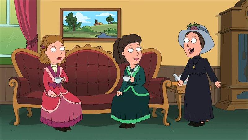 Сёстры Бронте Шарлотта Эмили и Энн английские писательницы 1840 х 1850 х годов Гриффины англ Family Guy