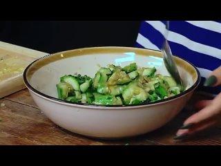 Секретный рецепт салата из битых огурцов . Китайский Новый год в Смаке. Ян Гэ