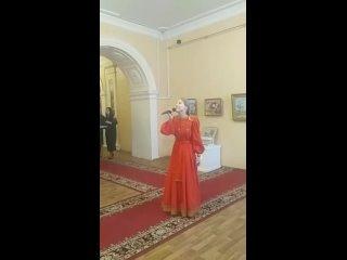 """Выставка живописи Любови Бочаровой """"О Любви..."""""""
