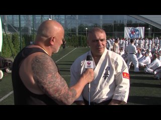 Шихан Иво Каменов (6 дан) на Летнем лагере KWU - 2018 (интервью)