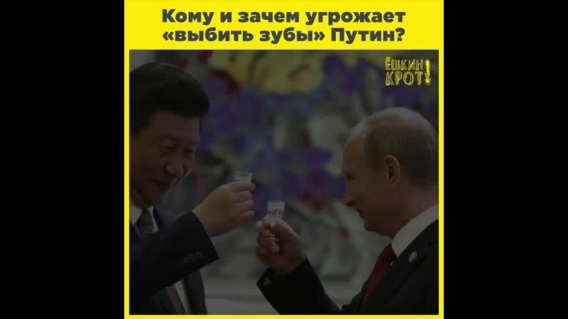 Путин обещает выбить зубы