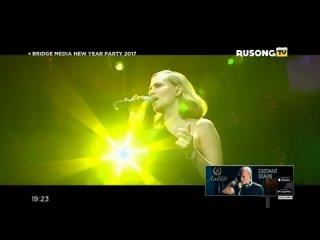Глюк'oZa (Глюкоза) «Без тебя» - Bridge Media New Year Party, Rusong TV,