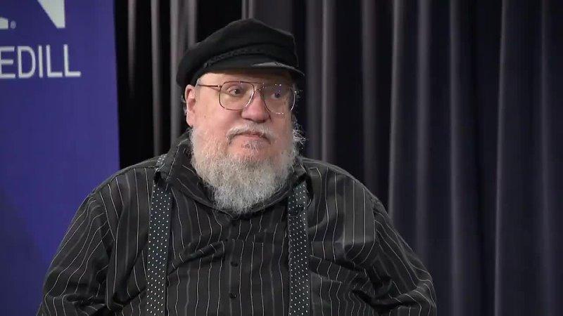Джордж Мартин рассказывает о работе над Elden Ring