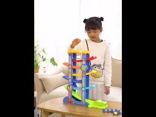 Новейшая модель забавного трека, модель автомобиля, инерционная головоломка для раннего образования, игрушечные машины, детские