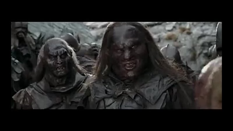 Orcs with normal voices