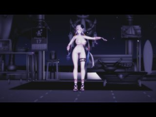 MMD R-18 [NORMAL] Lila Decyrus Secret Story Of The Swan Author Red Eyes Lunatic