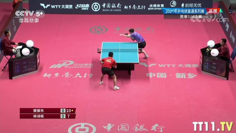 Fan Zhendong vs Lin Shidong   Chinese WTT Trials and Olympic Simulation 2021   14