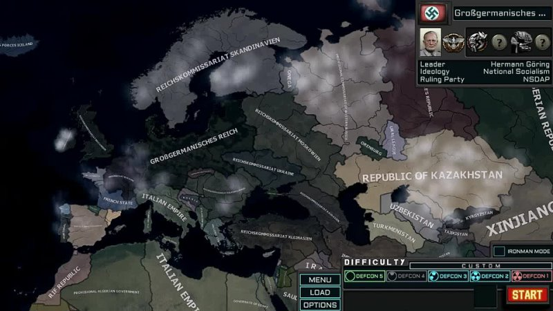 HOI4 TNO Gorings empire...but if you close your eyes!