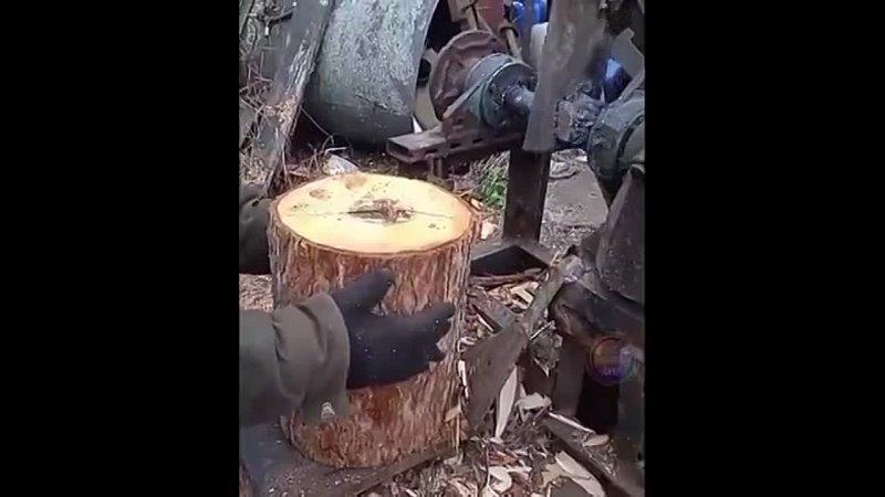 машина для колки дров