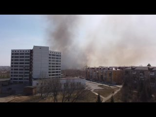 Пожар на Левом