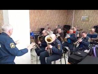РЕПЕТИЦИЯ Духового оркестра Районного Дома Культуры р.п. Коченево
