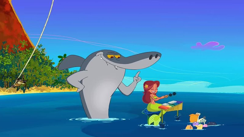 Zig und Sharko Zig und Sharko 🌳 Zig ist der neue Tarzan 🤩🌳 Volledige aflevering in HD