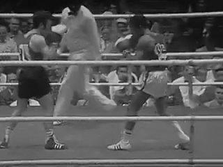 Летние Олимпийские игры 1972. 48 кг. 1\4 финала. Рафаэль Карбонелль(Куба) - Энрике Родригес (Испания). 2, 3 раунды-