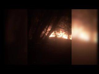 В поселке Торфопредприятие сгорел очередной частный дом.