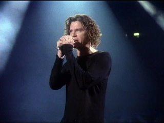 INXS ( Michael  Hutchence )( ВЕЧНАЯ  ТЕБЕ  ПАМЯТЬ !!!  )  -  Suicide Blondie ( Live At London , Wembley Stadium \1991 г