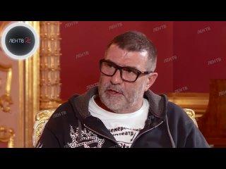 Евгений Гришковец о Земфире в интервью ЛенТВ24