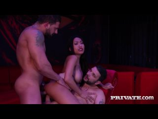 Polly Pons - DP At The Club (All Sex Porn DP Anal Asian Big Tits Teen Threesome Blowjob Facial Doggy Pussy Cumshot порно секс)