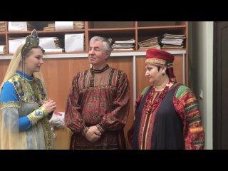 """Акция """"Культурный хоровод"""" в Рождественском сельском клубе"""