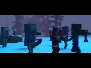 БОРЬБА - Песни Майнкрафт Клип Анимация (На Русском) - The Struggle Minecraft Song Animation RUS