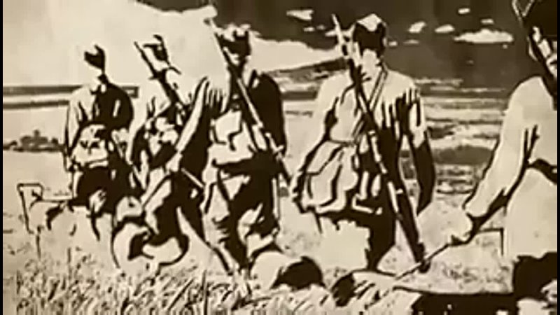 Последний рукопашный бой советских пограничников и их собак с фашистами