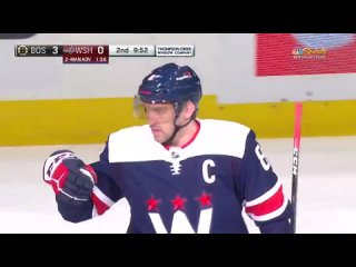 Alex Ovechkin with his 20th tally of the year, potting the slapper on the power play!