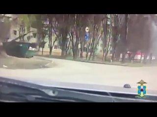 Водитель пытался уйти от погони в Таганроге