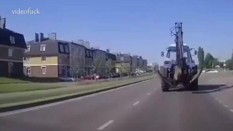 На ходу отлетело колесо