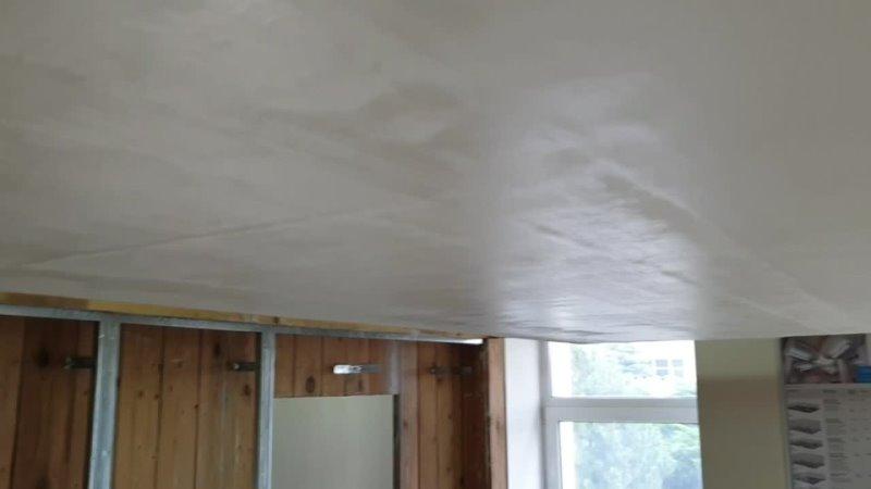 Этапы подготовки потолка ГКЛ под окраску
