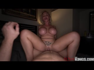 FilthyKings Casca Akashova - Making My Stepmom Feel Better All Sex, Blowjob. Big Tits, Blonde, Cowgirl, Gonzo, Hardcore